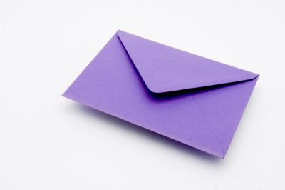 Indigo Greetings Card Envelope