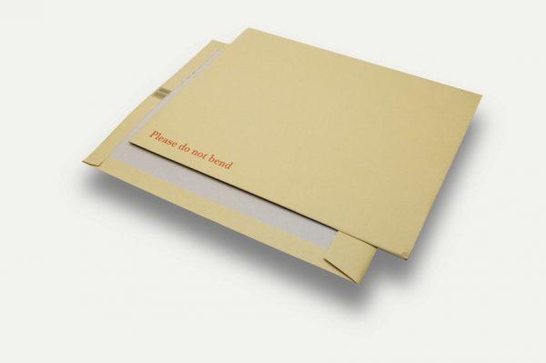 manilla board backed document envelopes