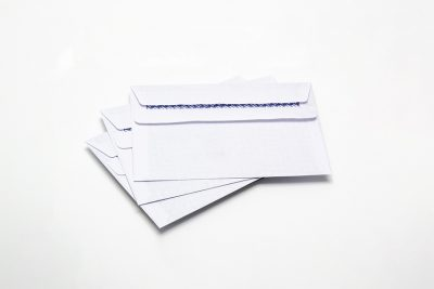 White Business Envelopes C4 C5 C6 DL