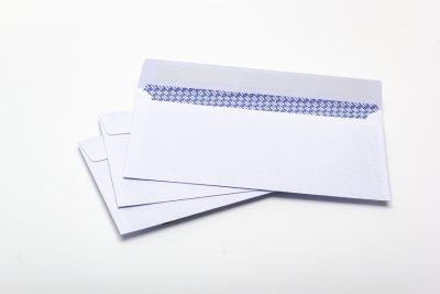 white window envelope DL