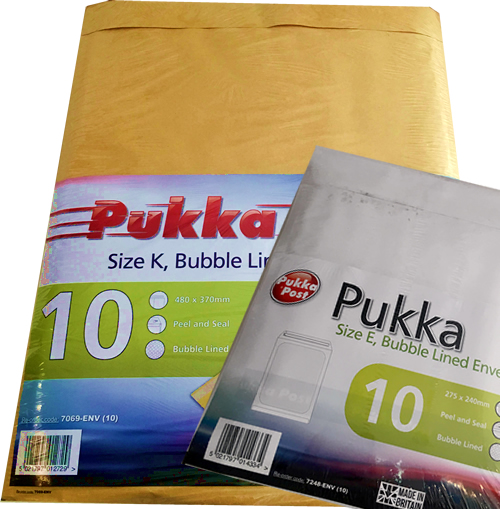 pukka_bubble envelopes