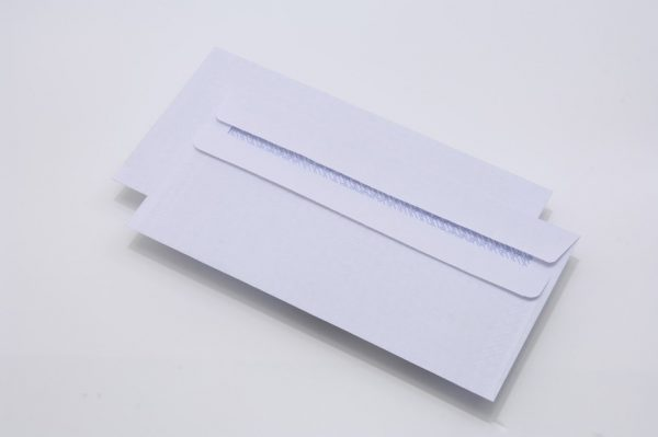 white-dl-business-envelope