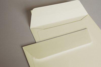 Luxury Cream Wove (Callisto Diamond Oyster) 135gsm Peel & Seal Wallet Style Envelopes
