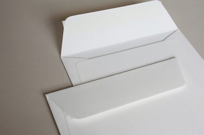 Luxury White Wove (Callisto Diamond White) 135gsm Peel & Seal Wallet Style Envelopes