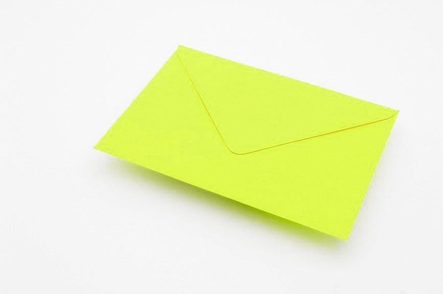 lime green envelope yorkshire envelopes greetings card envelopes
