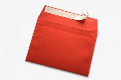 peel and seal red envelope