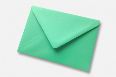Warbler Green Envelope parrot green