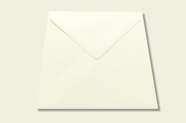 callisto diamond white luxury envelope