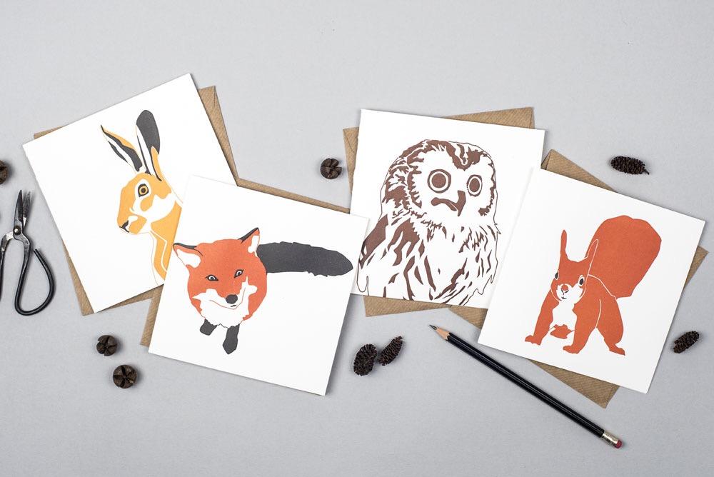 Penguin ink greetings cards bristol yorkshire envelopes animal greetings cards m4hsunfo