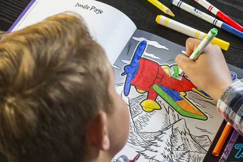 Pukk Pads 4d colouring books