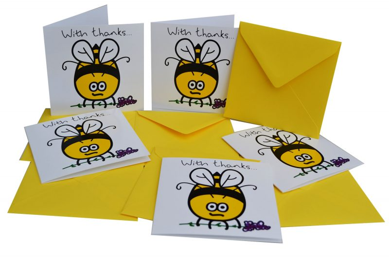 Yellow Envelope Digg Design Yorkshire Greetings Cards